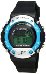 Top Ranke Watch - Sonata Digital Grey Dial Men's Watch -NL7982PP04