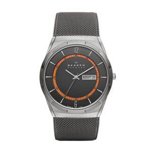 Top Ranke Watch - Skagen Analog Grey Dial Men's Watch - SKW6007