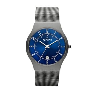Top Ranke Watch - Skagen Analog Blue Dial Men's Watch - 233XLTTN
