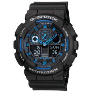 Top Ranke Watch - Casio G-Shock Analog-Digital Blue Dial Men's Watch - GA-100-1A2DR (G271)