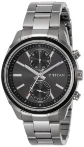 Top RAnke Watch - Titan Neo Analog Black Dial Men's Watch – NL 1733KM01