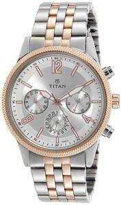 Top Ranke Watch - Titan Neo Analog Blue Dial Men's Watch-NL1734KM02