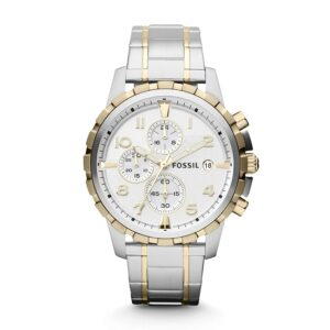 Top Ranke Watch - Fossil Analog White Dial Men's Watch - FS4795