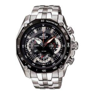 Top Ranke Watch - Casio Edifice Chronograph Black Dial Men's Watch - EF-550D-1AVDF (ED390)
