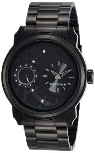 Top Ranke Watch - Fastrack Analog Black Dial Men's Watch-NL3147KM01