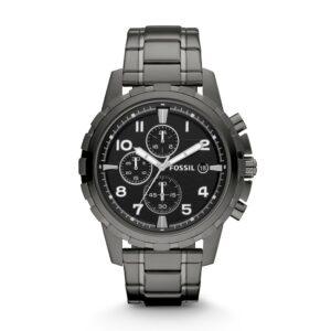 Top Ranke Watch - Fossil Dean Chronograph Black Dial Men's Watch - FS4721