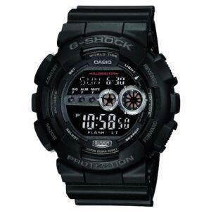 Top Ranke Watch - Casio G-Shock Digital Black Dial Men's Watch - GD-100-1BDR (G310)