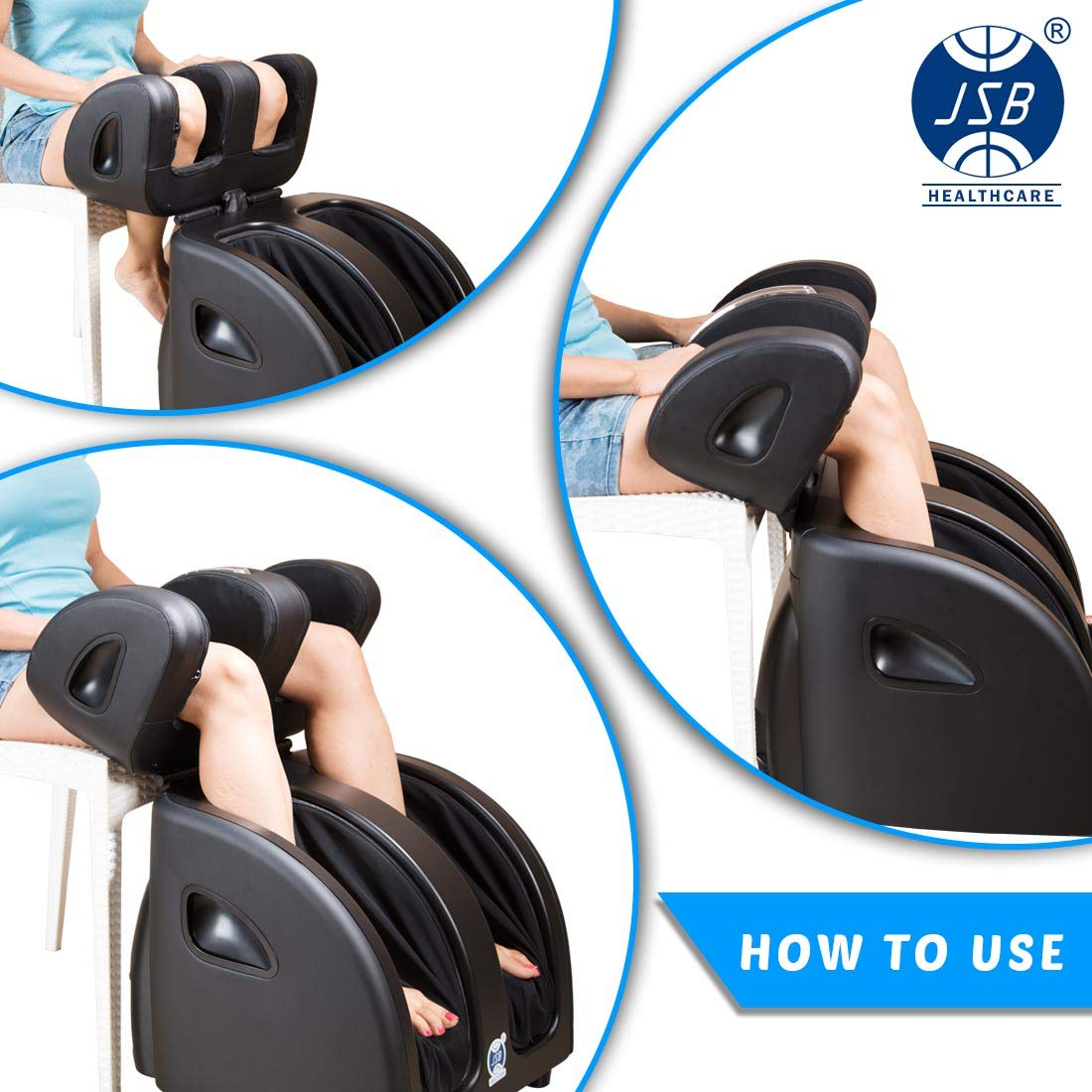 JSB HF60 Shiatsu Leg Foot Massager