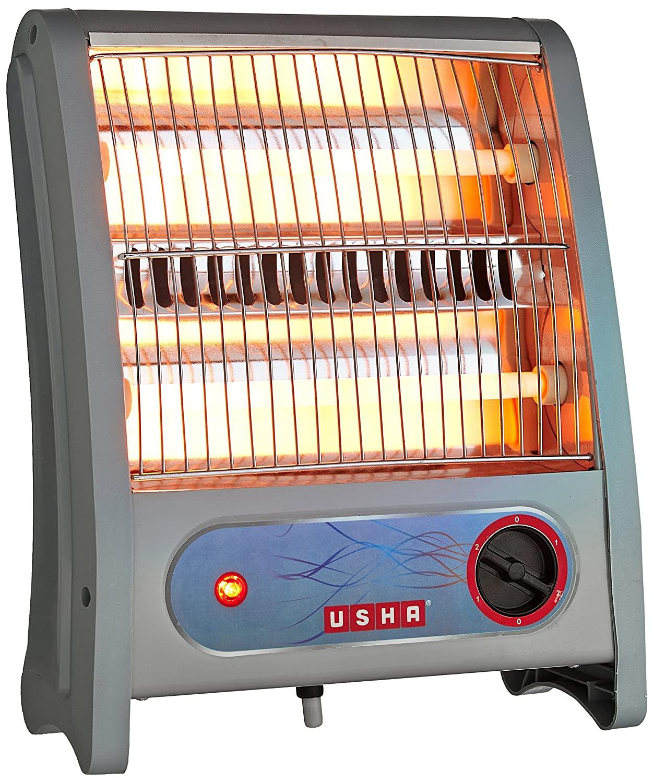 Usha Quartz Room Heater 3002 800 Watt with Overheating Protection Ivory