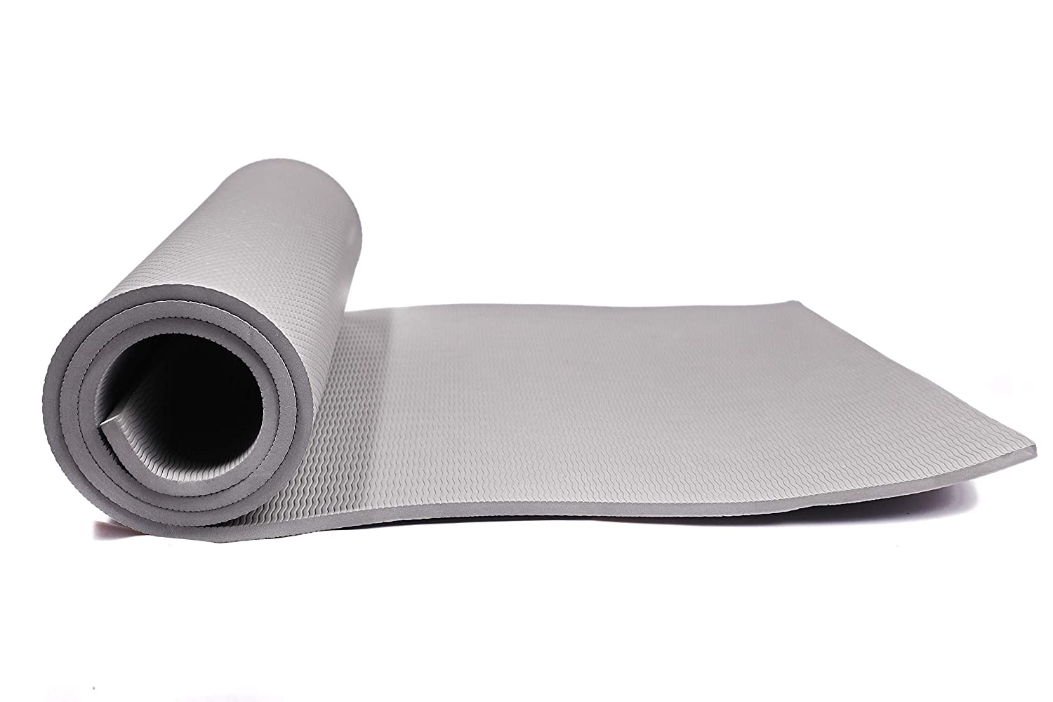 HNESS 10 mm Anti Skid Thick Yoga and Exercise Mat