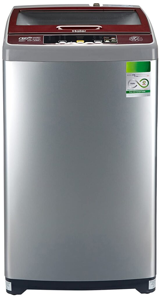 Haier 6.5 kg Fully-Automatic Top Loading Washing Machine (HWM65-707NZP