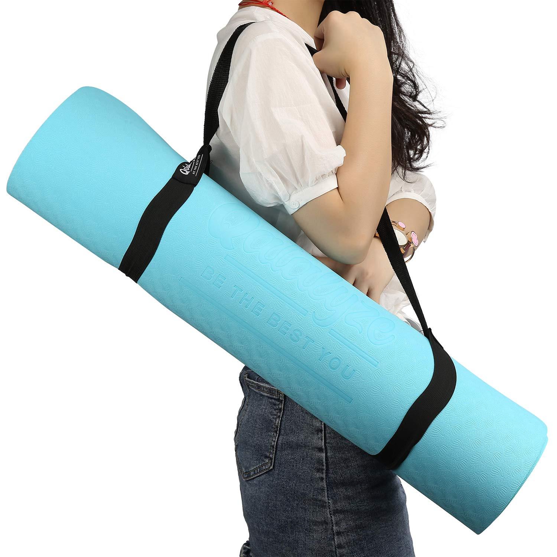 Qatalyze Extra Thick 8mm TPE Yoga mat