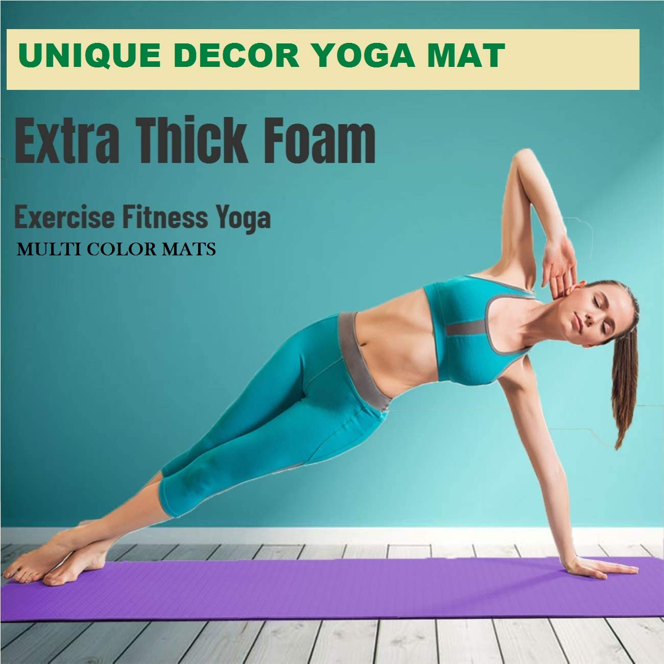 unique decor yoga mat