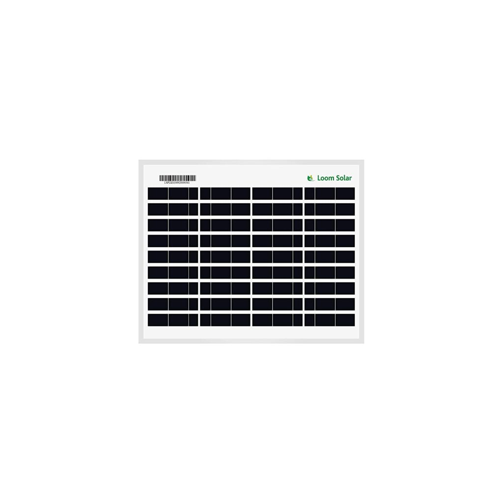 Loom 10 Watt Solar Panel