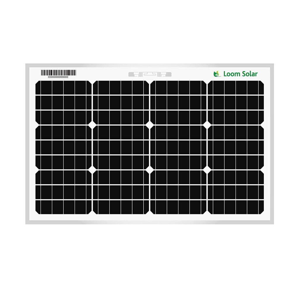 Loom solar Panel 50 watt
