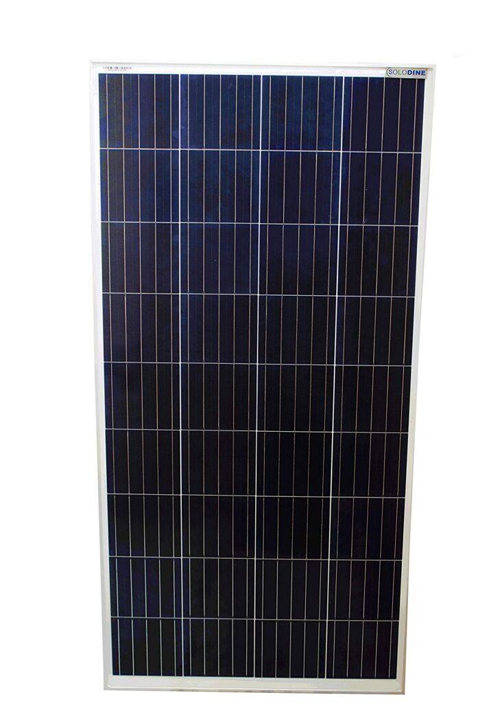 Solodine 100 Watt 12 Volt Polycrystalline Solar
