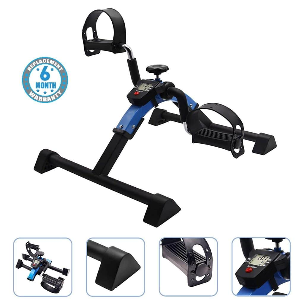 Voroly Portable Ab Exercise Bike Cycle