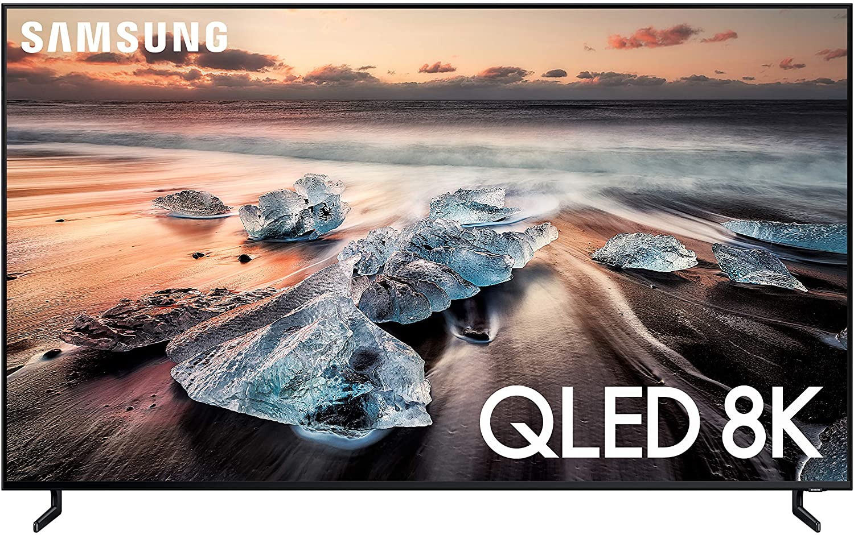 Samsung QN65Q900RBFXZA Flat 65-Inch QLED 8K Q900 Series Ultra HD Smart TV