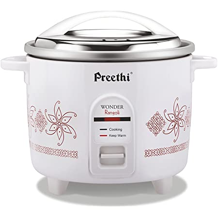 Preethi RC-320 1.8-Litre Double Pan Rice Cooker