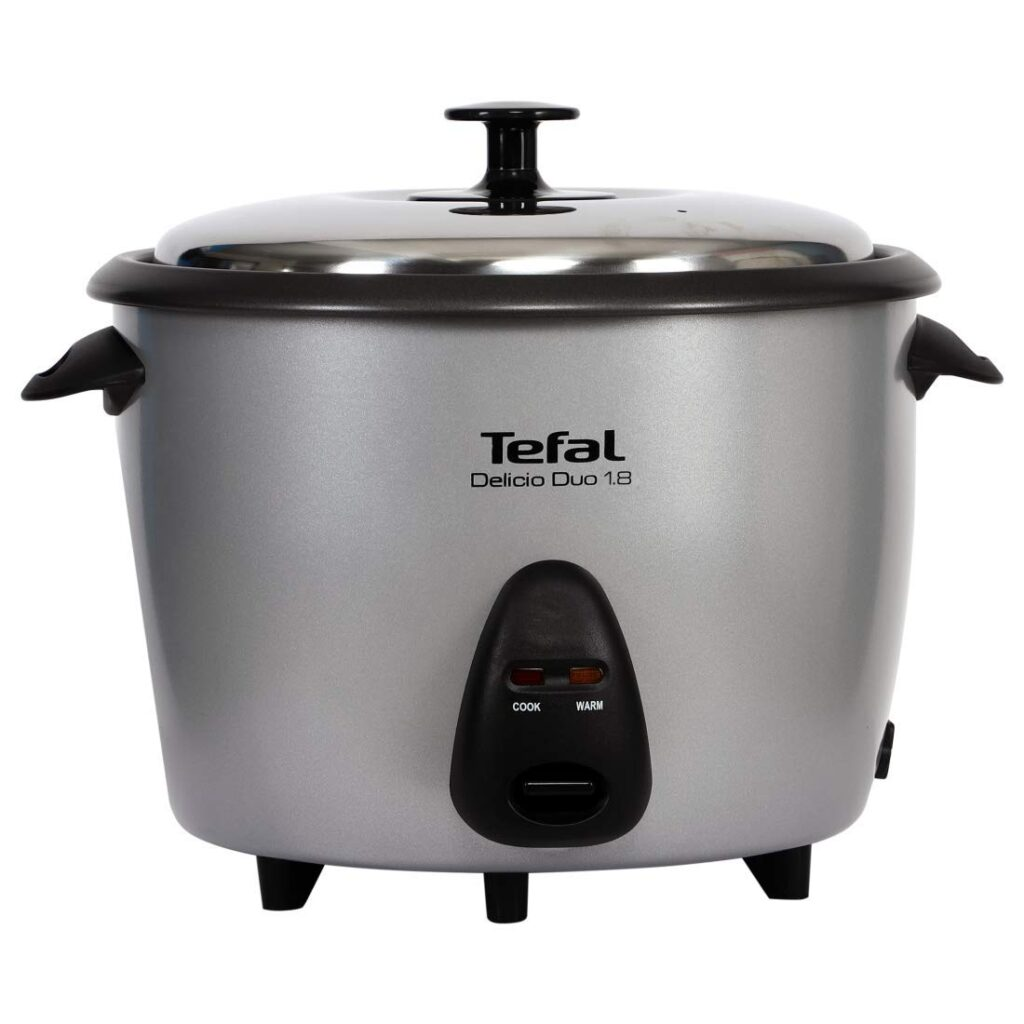 Tefal Delicio Duo 1.8L Rice Cooker with 2 Cooking Bowls (700W)