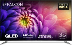 iFFALCON 164 cm (65 inches) 4K Ultra HD Certified Android Smart QLED TV