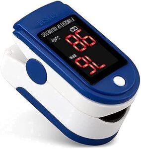 KWT Pulse Oximeter Fingertip, Blood Oxygen Saturation Monitor Fingertip