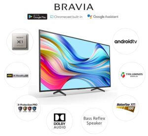 Sony Bravia 164 cm (65 Inches) 4K Ultra HD Smart Android LED TV 65X7400H
