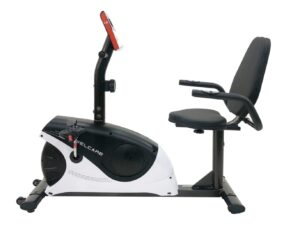 Welcare WC1544 Recumbent Exercise Bike with Pulse Monitor and LCD Display