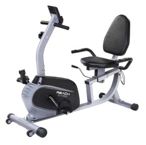 Reach Classic Recumbent Bike Exercise Cycle   Exercise Bike with Back Support Seat